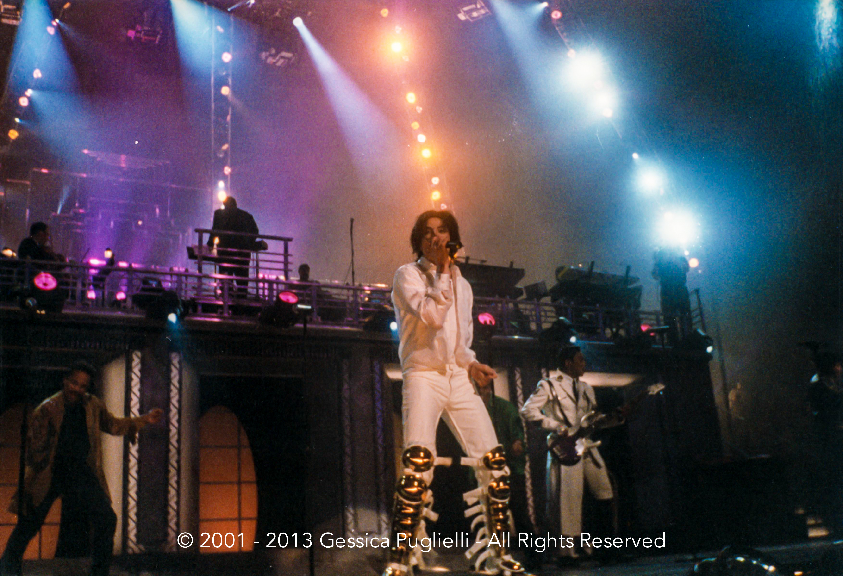 Michael Jackson live in New York… his last concert ever