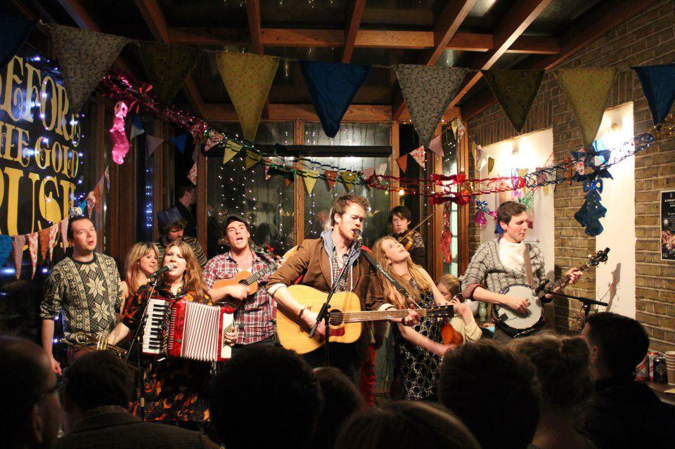 A Folky Christmas @ The Gallery Cafe in Bethnal Green