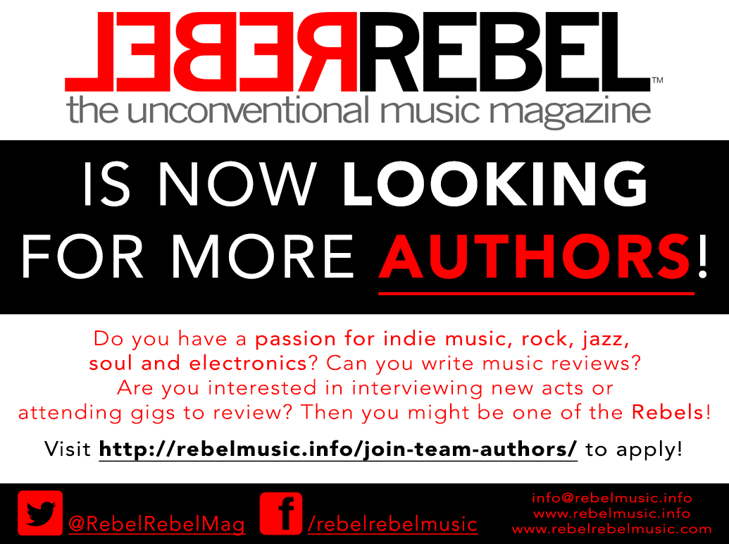 WE ARE LOOKING FOR NEW AUTHORS!