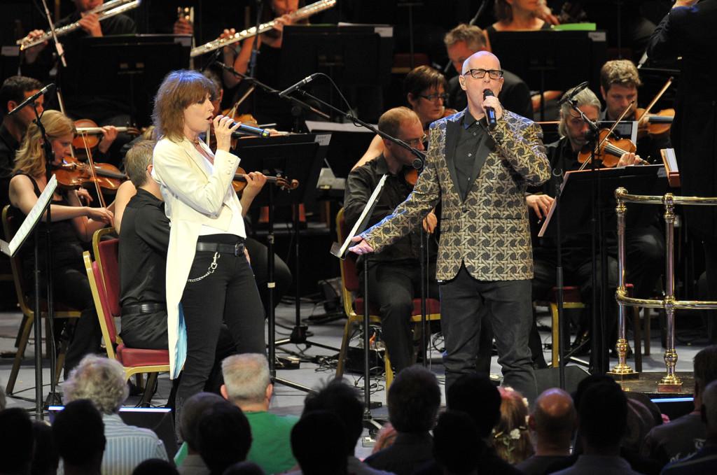 Chrissie Hynde and Neil Tennant - Photo © BBC/Chris Christodoulou