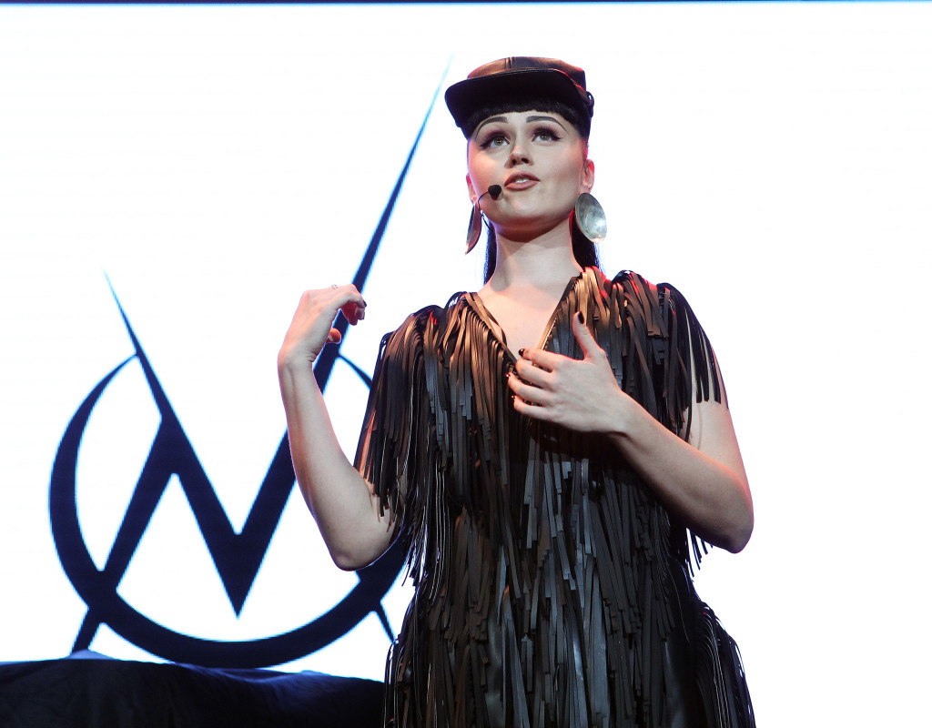Viktoria Modesta. Photo by Marilyn Kingwill.